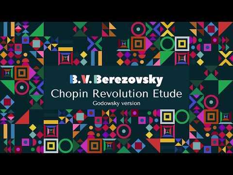 Boris Berezovsky - Chopin Revolution Etude, Godowsky version